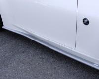Z34 - BRANEW Silver CF Side Skirt Lips