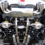 Central 20 Stainless Steel Exhaust System Nissan 370z 09