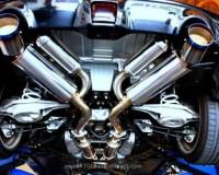 Z34 - HKS Dual Hi-Power Exhaust