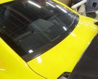 R35 - JUN CF Rear Glass Garnish