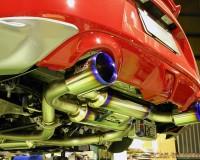 Z34 - MCR Crimson Exhaust System Ti Model