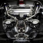 PowerCraft Hybrid Dual Exhaust System Nissan 370z 09a