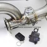 PowerCraft Hybrid Dual Exhaust System Nissan 370z 09b