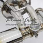PowerCraft Hybrid Dual Exhaust System Nissan 370z 09c