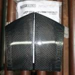 Top Secret Carbon B-Pillars Nissan 370z 09