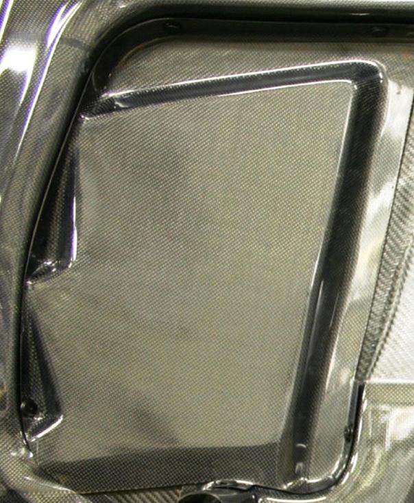 Top Secret FRP Vented Hood Nissan 370z 09c