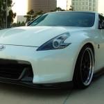 Top Speed Carbon Lip Spoiler Nissan 370z 09e