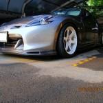 Top Speed Carbon Lip Spoiler Nissan 370z 09f