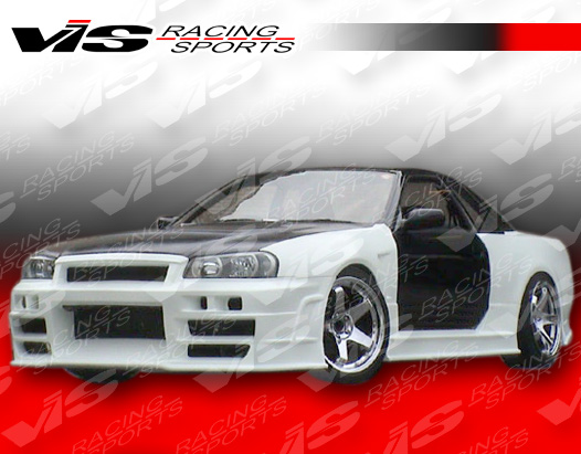 Vis Racing 2dr R34 Conversion Full Body Kit Nissan R32 90 94