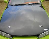 R32 - VIS Racing Carbon OEM Hood GTS