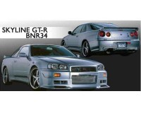 R34 - Blitz Aerospeed Side Skirt Set Tupe-2