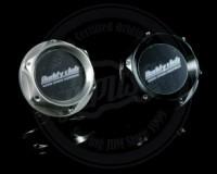 R33 - Buddy Club Type 1 Oil Cap Nissan Black/Titanium Silver