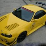 C-West Carbon Front Hood Nissan R34 GT-R 99-02b