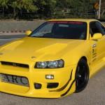 C-West Eye Lines Nissan Skyline GT-R R34 99-02a