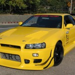 C-West Eye Lines Nissan Skyline GT-R R34 99-02a