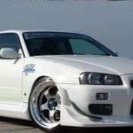 C-West Front Canards III Nissan Skyline GT-R R34 99-02