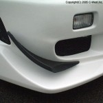 C-West Front Canards III Nissan Skyline GT-R R34 99-02a