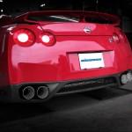 Eisenmann Rear Muffler Exhaust Dual Quad Tips Nissan R35 GTR 09