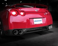 R35 - Eisenmann Rear Muffler Exhaust Dual Quad Tips