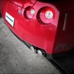 Eisenmann Rear Muffler Exhaust Dual Quad Tips Nissan R35 GTR 09a