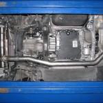 Eisenmann Rear Muffler Exhaust Dual Quad Tips Nissan R35 GTR 09c