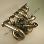Full Race RB26 ProStreet T3 Twinscroll Top Mount Turbo Manifold3