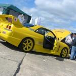 JUN FRP Vented Hood Nissan R33 GT-R 95-98