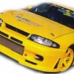 JUN Front Bumper Spoiler Nissan Skyline GTR BCNR33