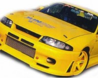 R33 - JUN Front Bumper Spoiler