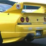 JUN Rear Bumper Spoiler Nissan Skyline GTR BCNR33