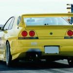 JUN Rear Bumper Spoiler Nissan Skyline GTR BCNR33a