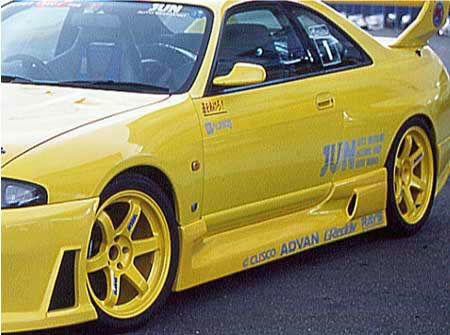JUN Side Skirts Nissan R33 GT-R 95-98