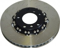 R33 - Performance Friction Front Dimpled Rotors V-Spec Brembo