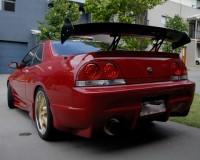 R33 - VIS Invader Rear Bumper