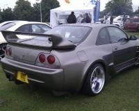 R33 - VIS Invader GT Rear Bumper
