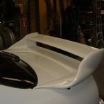 VIS Racing Invader GT Spoiler Nissan R33 GT-R 95-98e