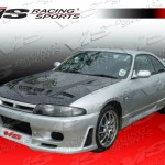 VIS Racing JS Style Front Bumper Nissan R33 GT-R 95-98
