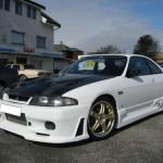 VIS Racing JS Style Front Bumper Nissan R33 GT-R 95-98a