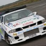 VIS Racing JS Style Front Bumper Nissan R33 GT-R 95-98c