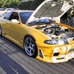 VIS Racing JS Style Front Bumper Nissan R33 GT-R 95-98d