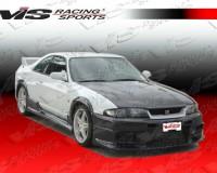 R33 - VIS Racing OEM-Style Carbon Hood GT-R