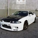 VIS Racing Techno R Front Bumper Nissan R33 GT-R 95-98f