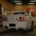 Veilside CI Rear Bumper Nissan Skyline R33 GTR 95-98d