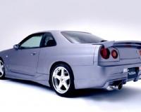 R34 - Veilside CI Rear Bumper GTS