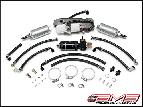 ams performance alpha fuel system nissan r35 gt