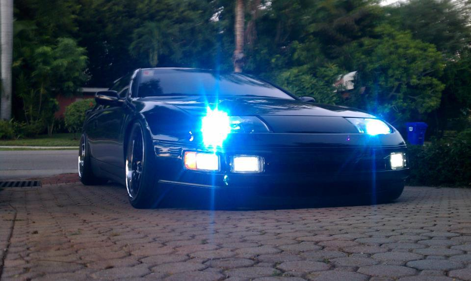 Zilver Lights Led Front Running Lights Nissan 300zx 90 96