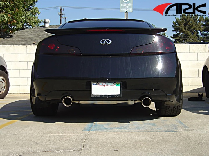 ark dt s exhaust system w o ypipe infiniti g35 coupe 03 06. Black Bedroom Furniture Sets. Home Design Ideas
