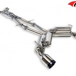 ARK GRIP True Dual Exhaust System Burnt Tip Infiniti G37 Coupe 08-12