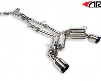 Z34 - ARK GRIP True Dual Exhaust System Burnt Tip