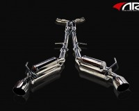 G37 - ARK GRIP True Dual Exhaust System Polished Tip